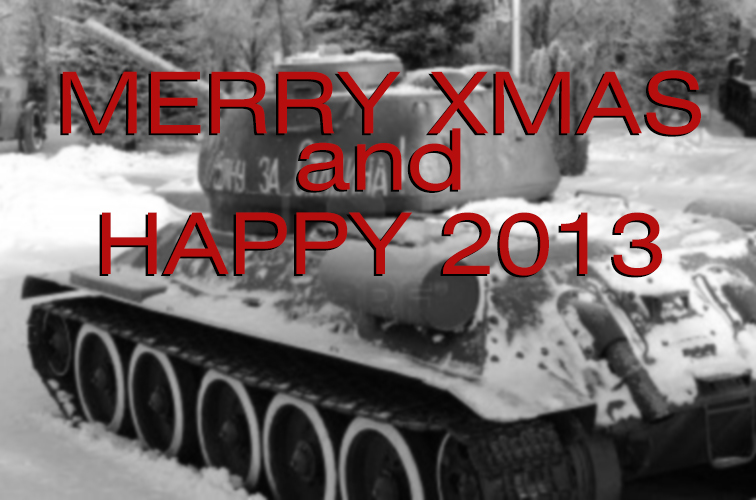 Merry Xmas and Happy 2013
