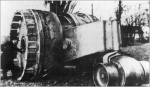 Tanque-Treffas-Wagen