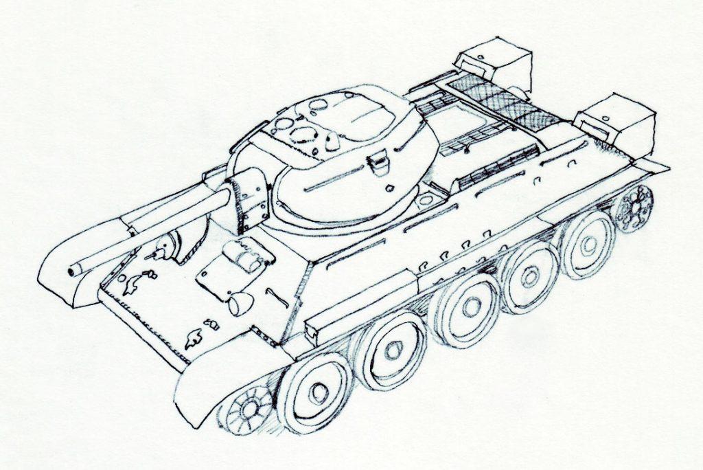 Croquis-T34
