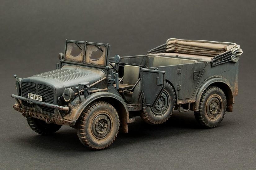 Galería: Horch Type 1a, Tamiya 1/48, Pintura (2), por Almería Modelismo Team