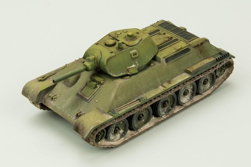 Galería: T-34/76 (Mod.1940), Zvezda 1/100, por Carlos Alba