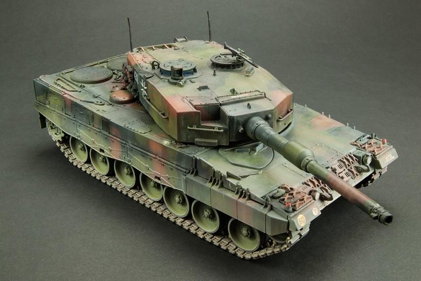 Galería: Leopard 2 A4, Italeri 1/35, por Francisco L. Vidal