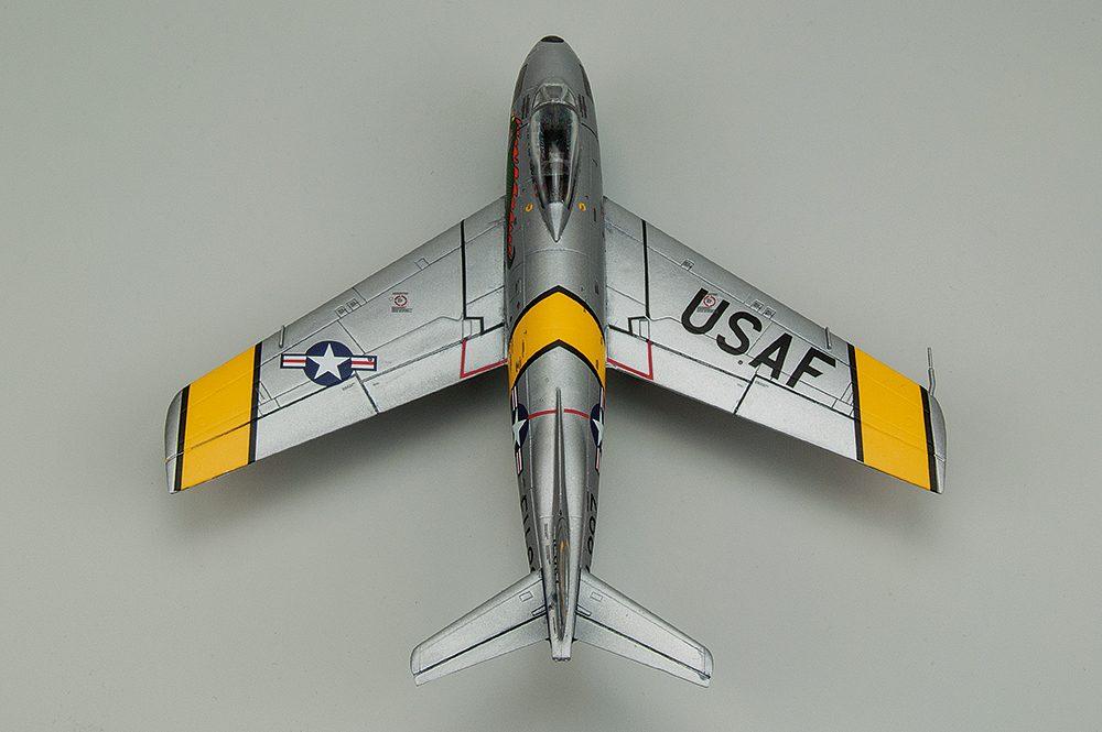 Galería: F-86 Sabre, Airfix 1/72, por Francisco L. Vidal