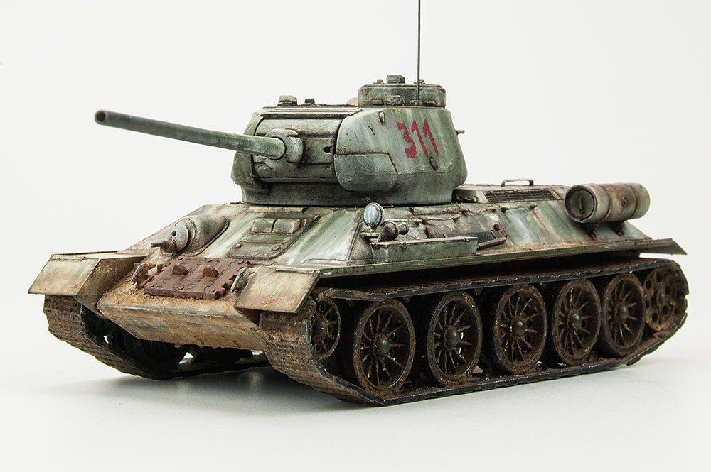 Galería: T-34/85, Revell 1/72, por Paco Lao