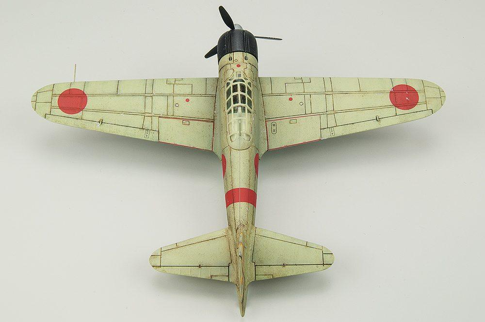 Galería: Mitsubishi A6M2b Zero, Airfix 1/72, por J. Enrique Jimenez