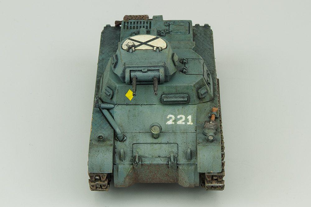 Galería: Panzer I Ausf. B, Esci 1/72, por Juan Enrique Jiménez