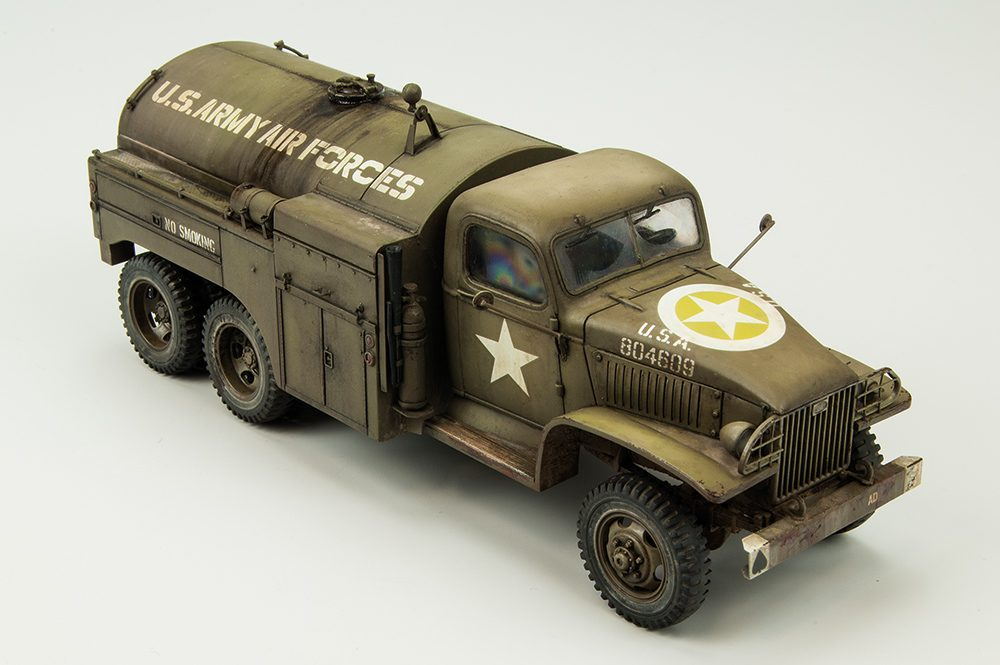 Galería: GMC Fuel Truck, Tamiya 1/48, por Carlos Alba (Montaje) y Joaquín Gª Gázquez (Pintura)