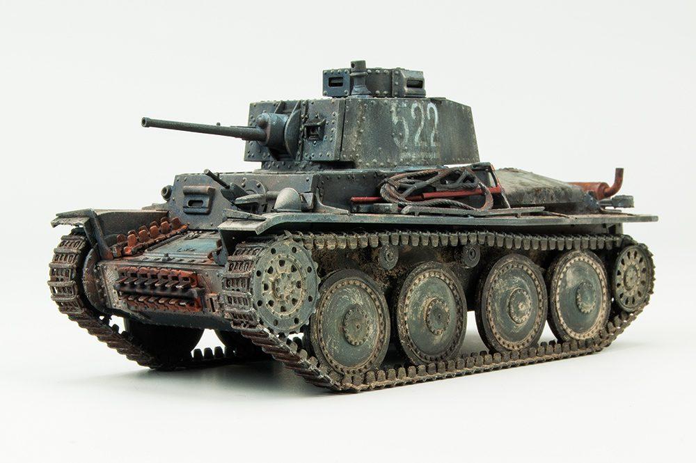 Galería: Panzerkampfwagen 38(t) Ausf.E/F, Tamiya 1/48 por Fco. Javier Mateos