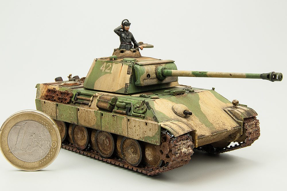 Galería: Panther Ausf.G, Revell 1/72, por Paco Lao