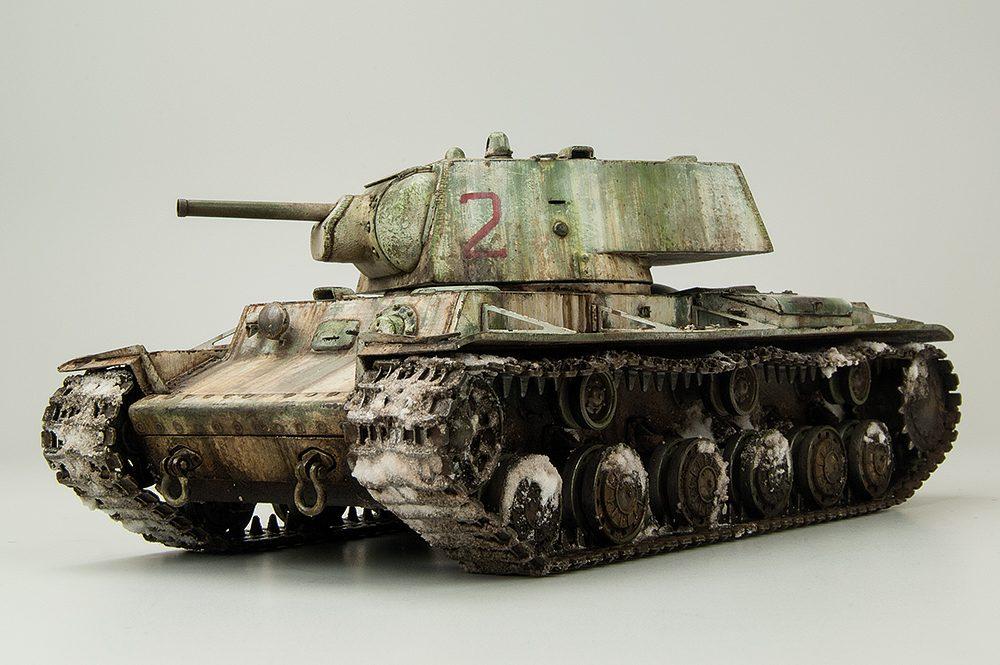 Galería: KV-1, Model 1941, Hobbyboss 1/48, por Carlos Alba y Joaquin Gª Gazquez
