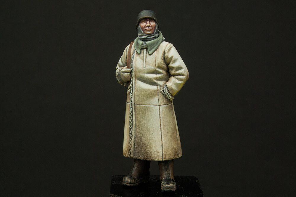 Galería: German Sentry Winter Uniform, ICM 1/48, por Andrés Bernal