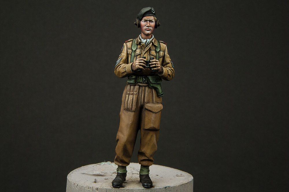 Galería: British RAC AFV Crew, Alpine Miniatures 1/35, por Pedro González