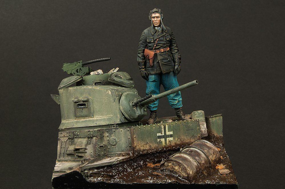 """Galería: """"M3 Recapturado, Rusia 1943"""", Darius Miniatures y Alpine Miniatures 1/35, por Fco. Jose Pinos y Paulino Barros"""
