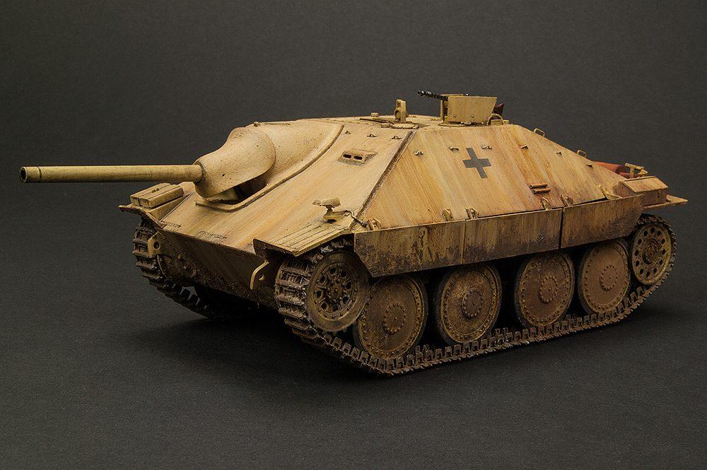"Galería: Jagdpanzer 38(t) Hetzer ""Mittlere Produktion"", Tamiya 1/35, por Juan Jose Cuevas"