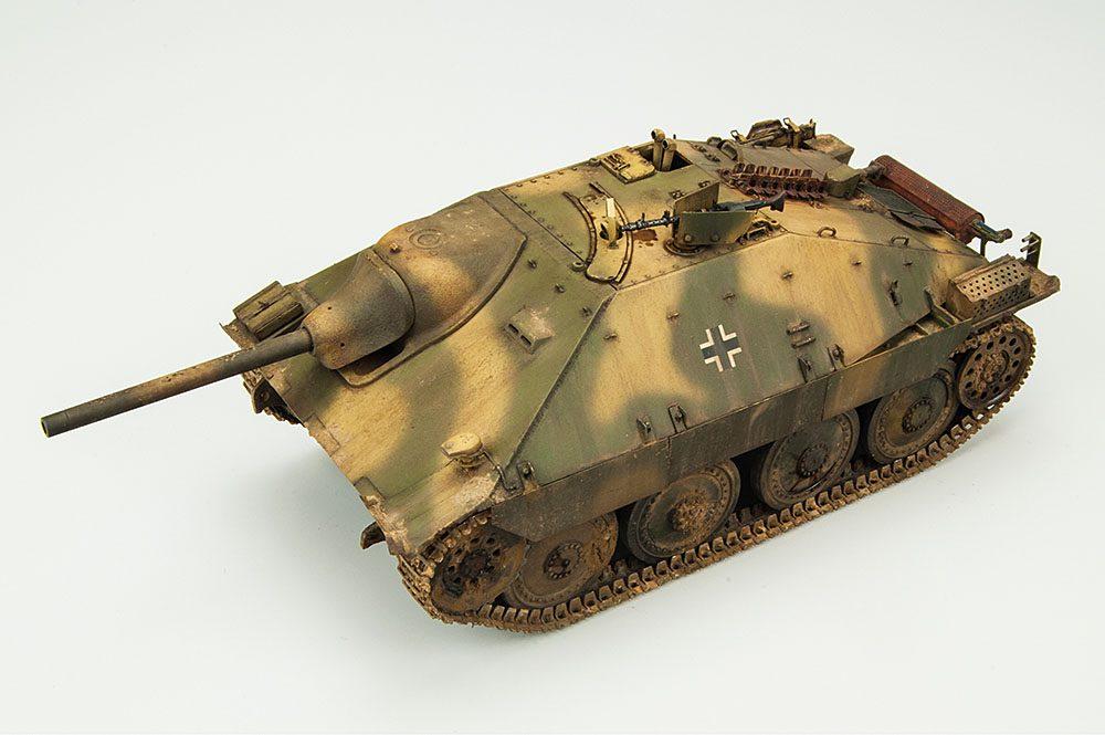"""Galería: Jagdpanzer 38(t) Hetzer """"Mittlere Produktion"""", Tamiya 1/35, por Rafael León"""