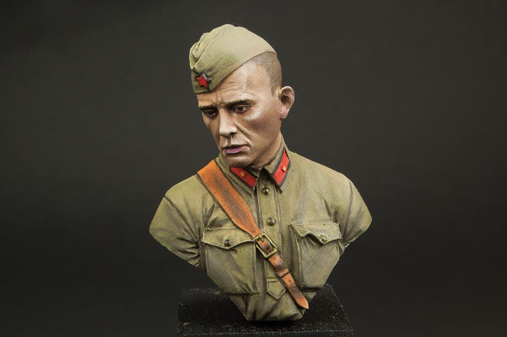 Galería: Red Army Junior Lieutenant, Barbarossa, 1941, Fer Miniatures 1/16, por Paulino Barros