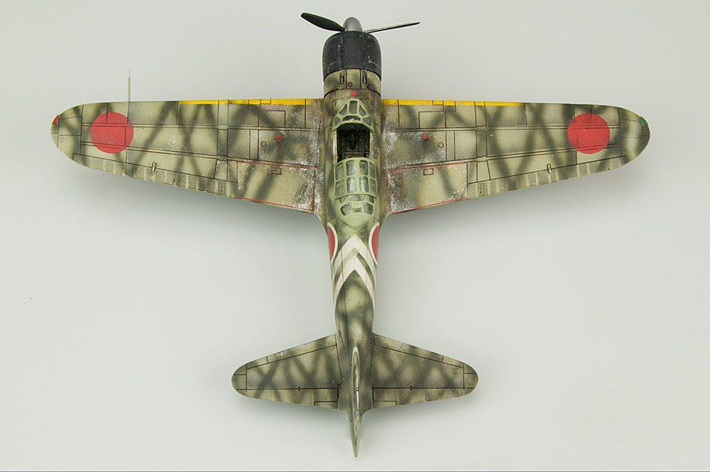 Galería: Mitsubishi A6M2b Zero, Airfix 1/72, por Víctor Martínez