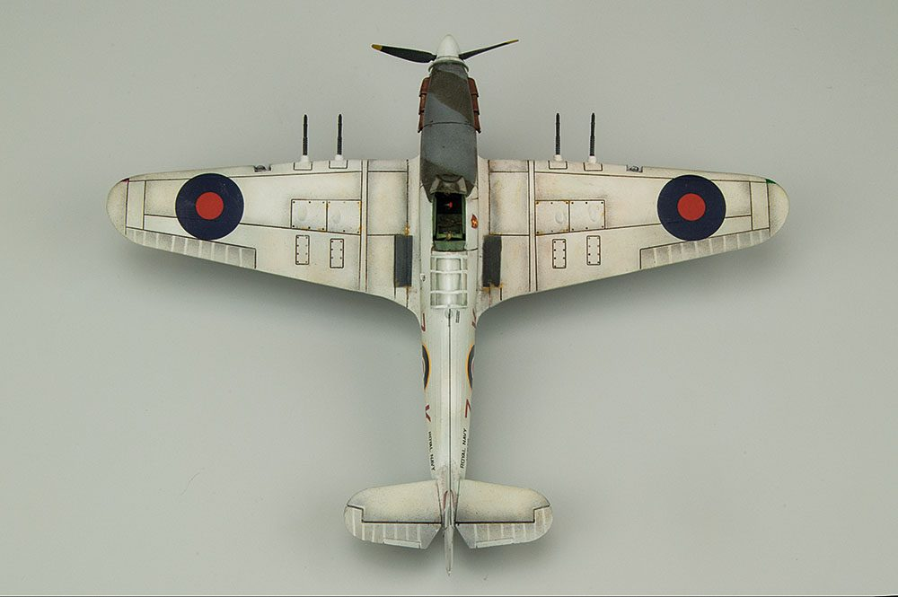 Galería: Hawker Sea Hurricane, Airfix 1/72, por Víctor Martínez