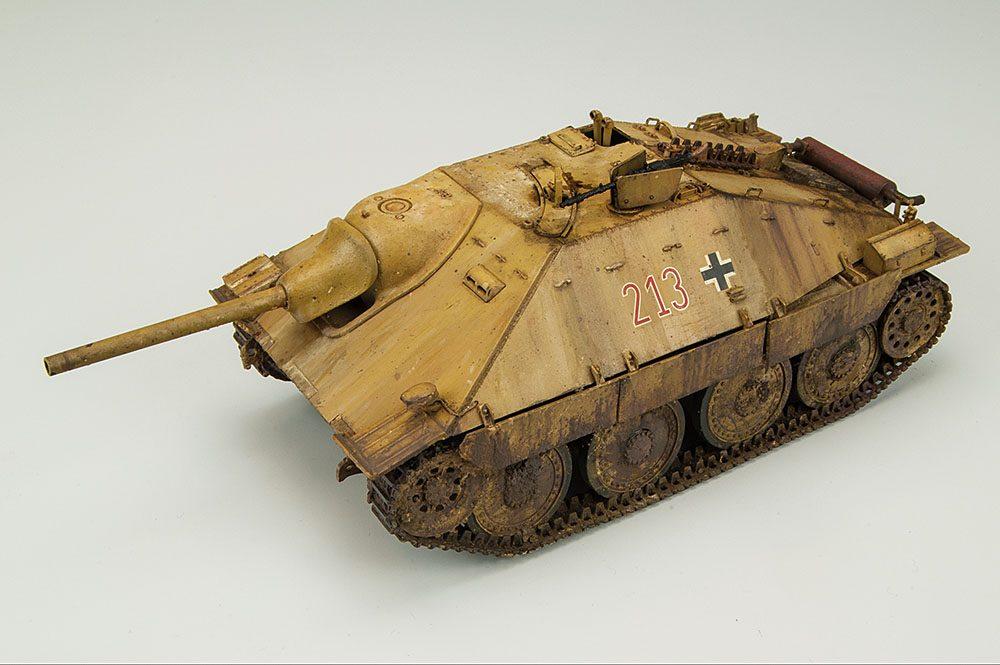 "Galería: Jagdpanzer 38(t) Hetzer ""Mittlere Produktion"", Tamiya 1/35, por Ignacio Bértiz"