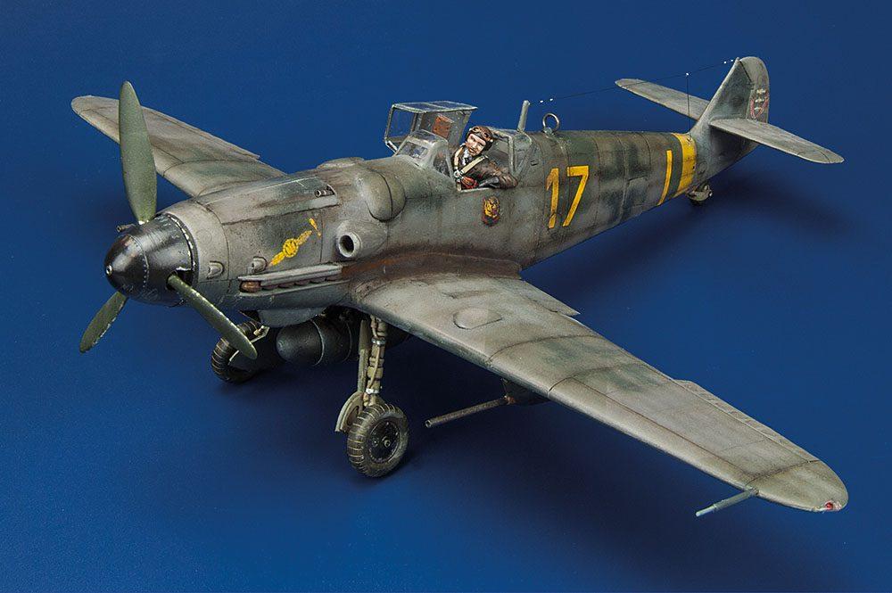 Galería: Messerschmitt Bf-109 G6, Academy 1/48, por Manuel Céspedes