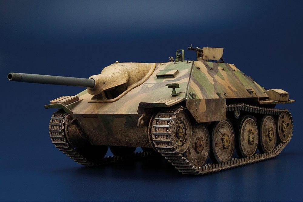"""Galería: Jagdpanzer 38(t) Hetzer """"Späte Produktion"""", Academy 1/35, por Carlos Alba"""