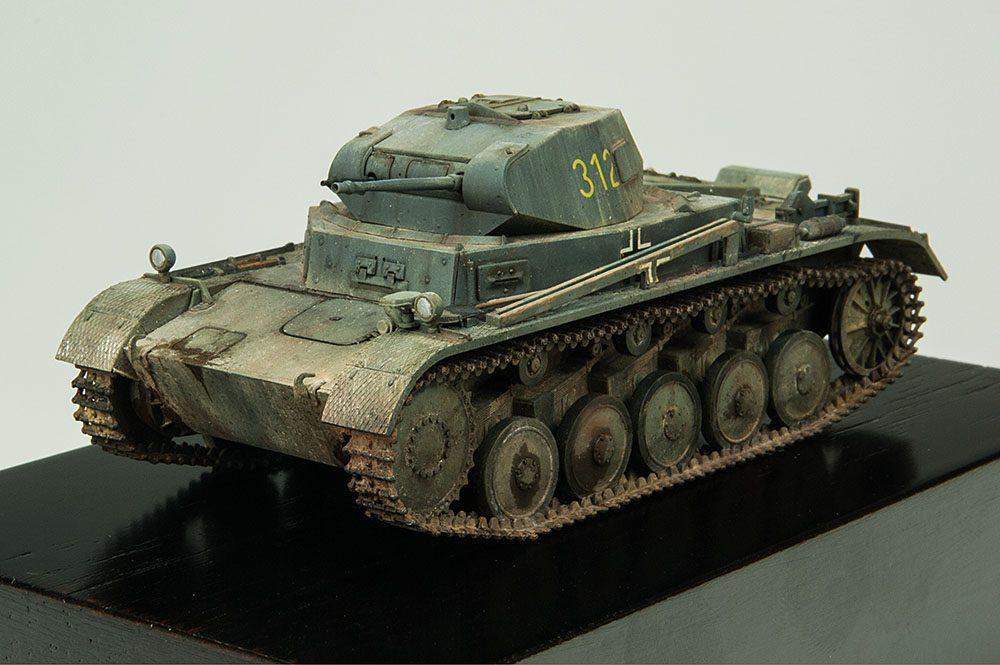 Galería: Panzer II, Tamiya 1/48, por Daniel García