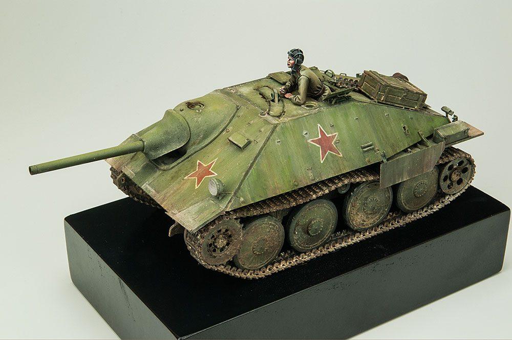 """Galería: Jagdpanzer 38(t) Hetzer """"Spätte Produktion"""", Tamiya 1/35, por Daniel García"""