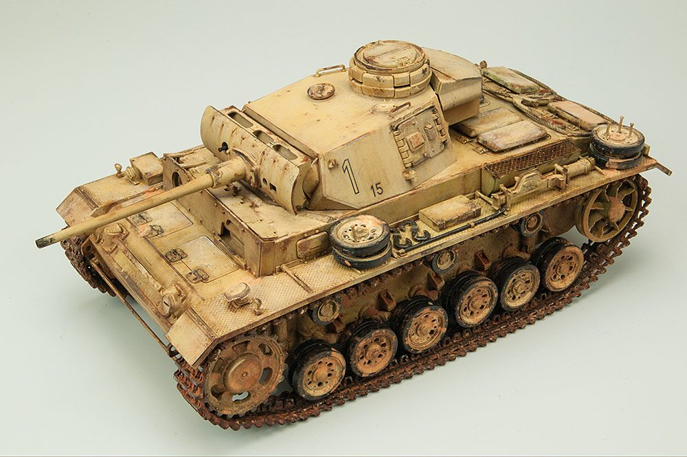 Galería: Panzer III Ausf. L, Tamiya 1/35, por Jose M. Martinez Baron