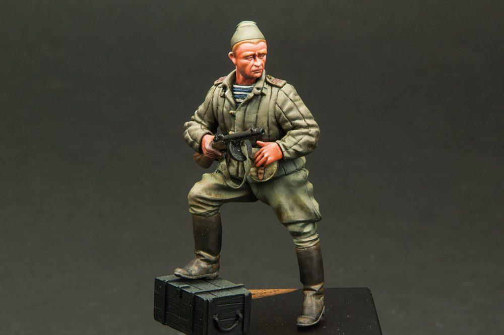 Galería: Sargento Soviético WWII, Verlinden P. 1/35, por Joaquín Gª Gazquez