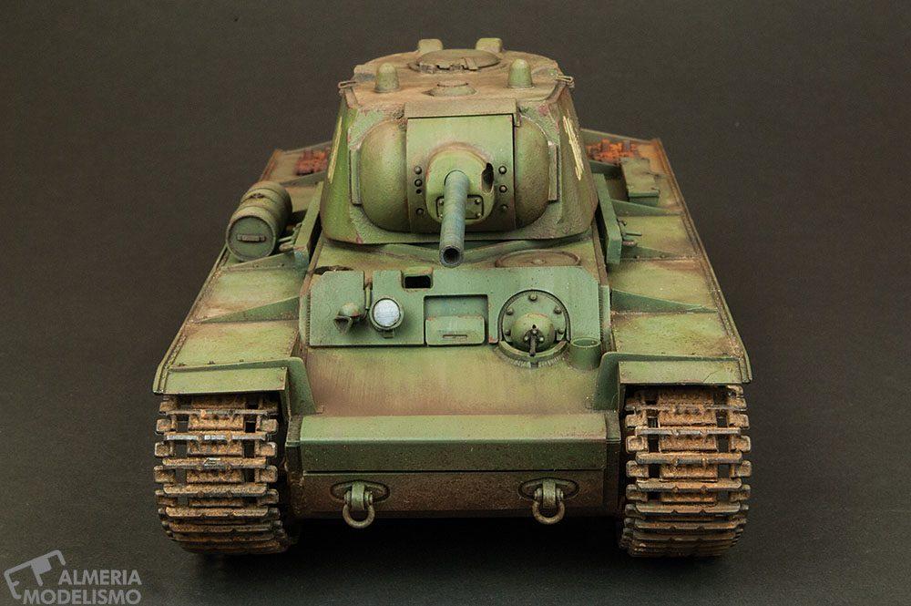 Galería: KV-I Type C, Tamiya 1/35, por Paco Lao