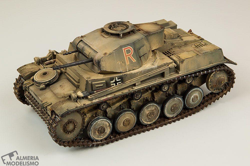 Galería: Panzer Kampfwagen II Ausf. F, Tamiya 1/35, por Alfredo Mendoza