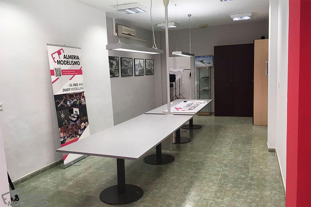 Nueva Sede Almería Modelismo (Últimos Retoques)