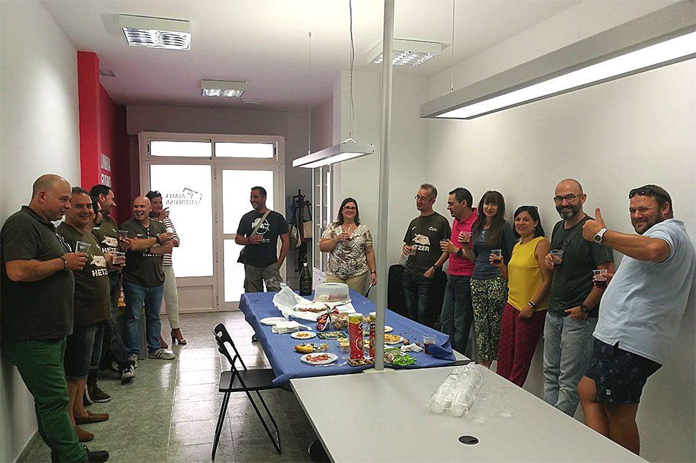 Inauguracion Sede Almeria Modelismo