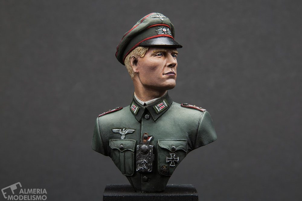 Galería: Wehrmacht Hauptmann 1941, FeR Miniatures, 1/16, por Paulino Barros
