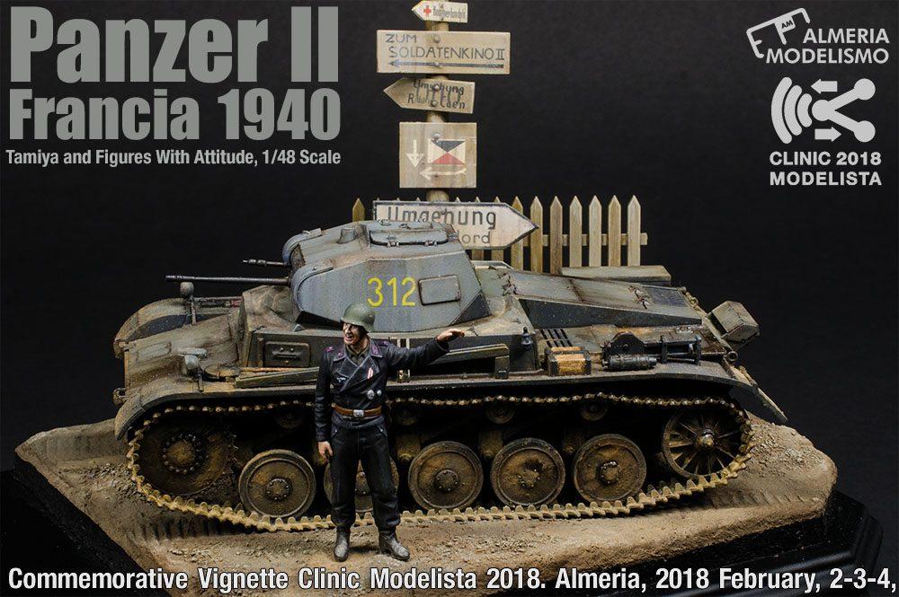 Galería: Panzer II, Francia 1940, Tamiya y figures with Attitude, 1/48, por Al.Mod. Team