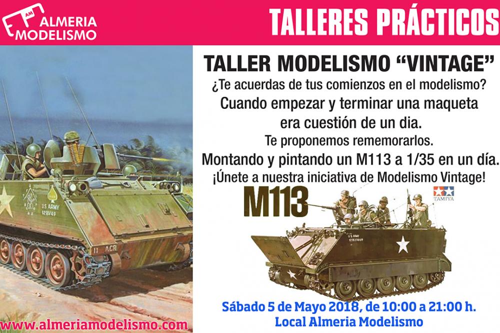 Modelismo Vintage: Montaje y Pintura de un M113 de Tamiya en 1 día.