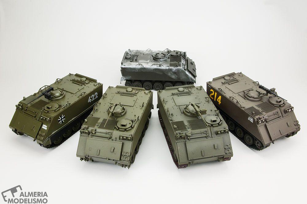 """Crónica Taller Modelismo """"Vintage"""": Haz un M113 de Tamiya en 1 día."""