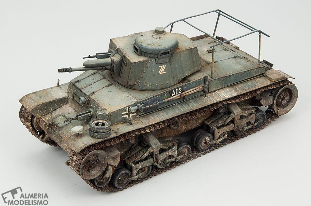 """Galería: Pz.Bef.Wg. 35(t) """"Command Tank"""", Academy 1/35, por Daniel García"""
