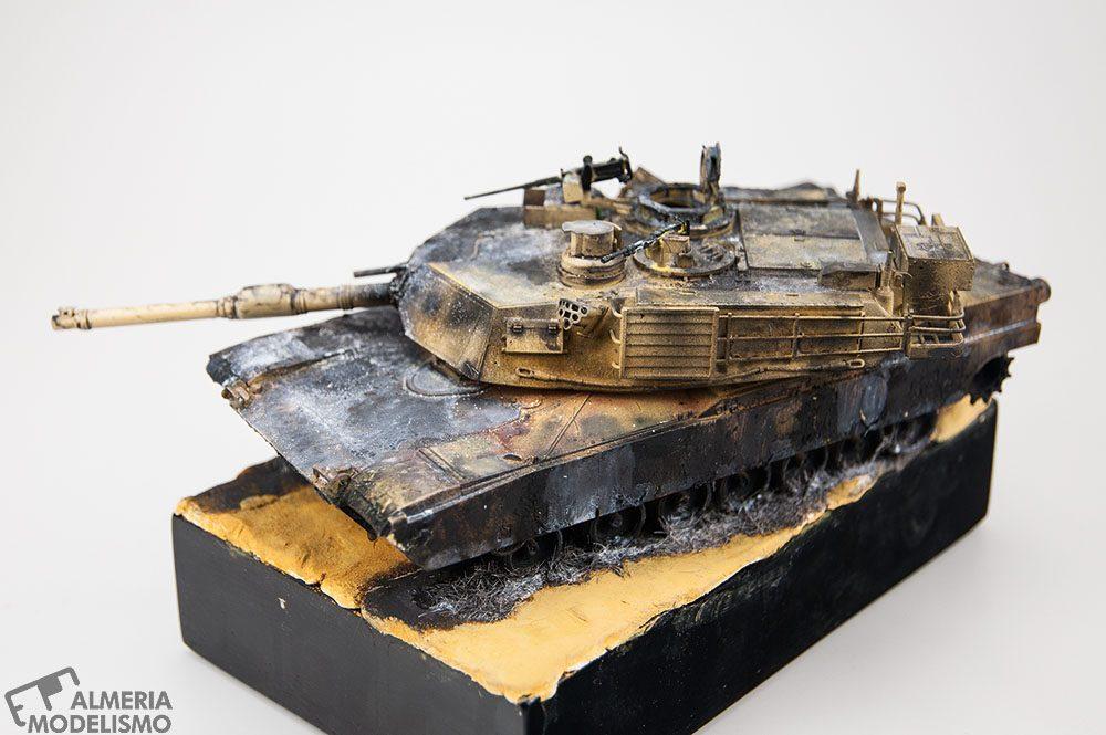 Galeria: M1A2 Abrams, Tamiya 1/48, por Francisco Javier Mateos