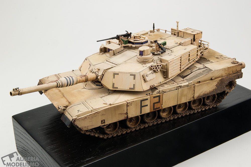 Galería: M1A2 Abrams, Tamiya 1/48, por Héctor J. Hernández