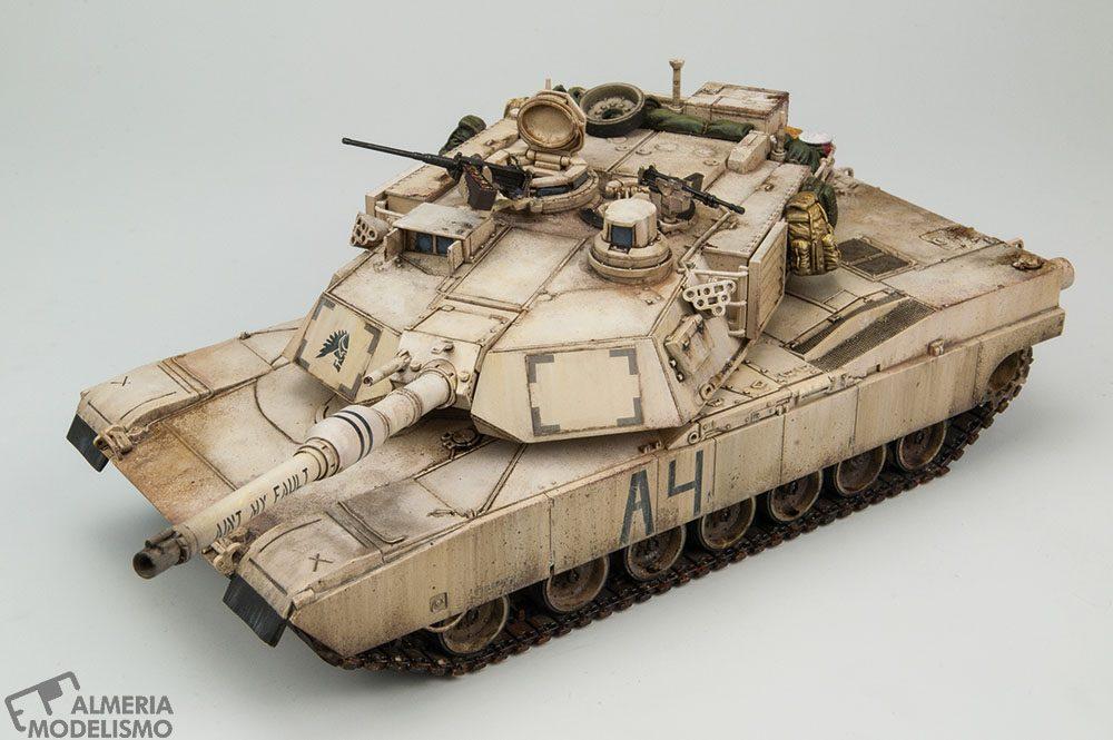 Galería: M1A2 Abrams, Tamiya 1/48, por Paco Lao
