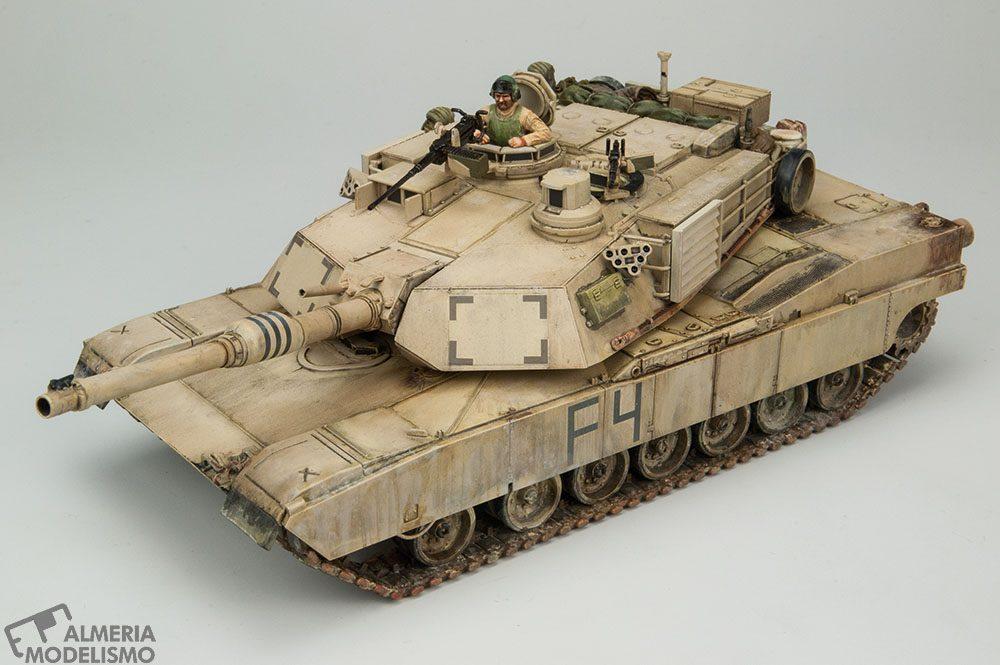 Galería: M1A2 Abrams, Tamiya 1/48, por Ignacio Bértiz