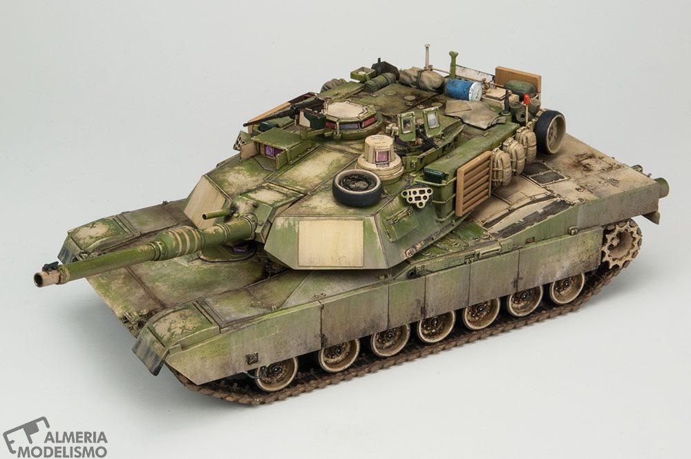 Galería: M1A2 SEP Abrams, Tamiya 1/48, por Carlos Alba