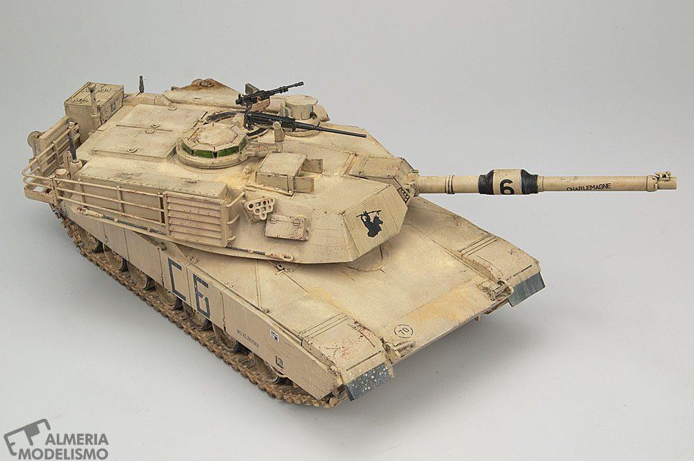 Galería: M1A2 Abrams, Tamiya 1/48, por José M. Martínez Baron