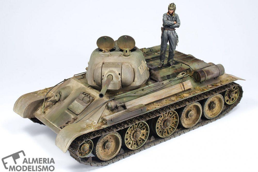 "Galería: T-34/76 ""CHTZ STAMPED TURRET"", Tamiya 1/35, por Joaquín Gª Gázquez"