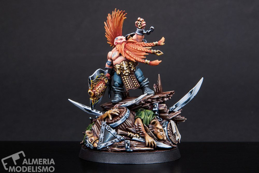 Galería: Gotrek Gurnisson, Games Workshop, por César Peinado