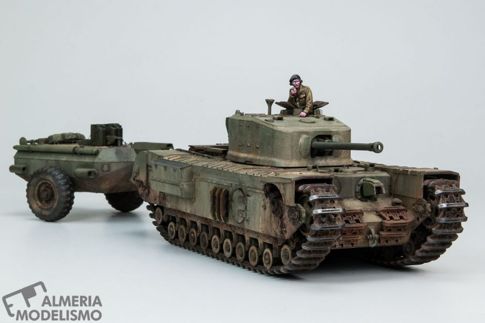 Galería: Churchill Mk.VII Crocodrile, Tamiya 1/48, por Carlos Alba