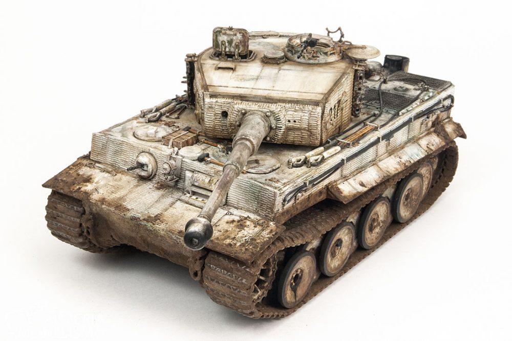 Galería: Tiger I Ausf.E «Late Production», RFM 1/35, por Rafael León
