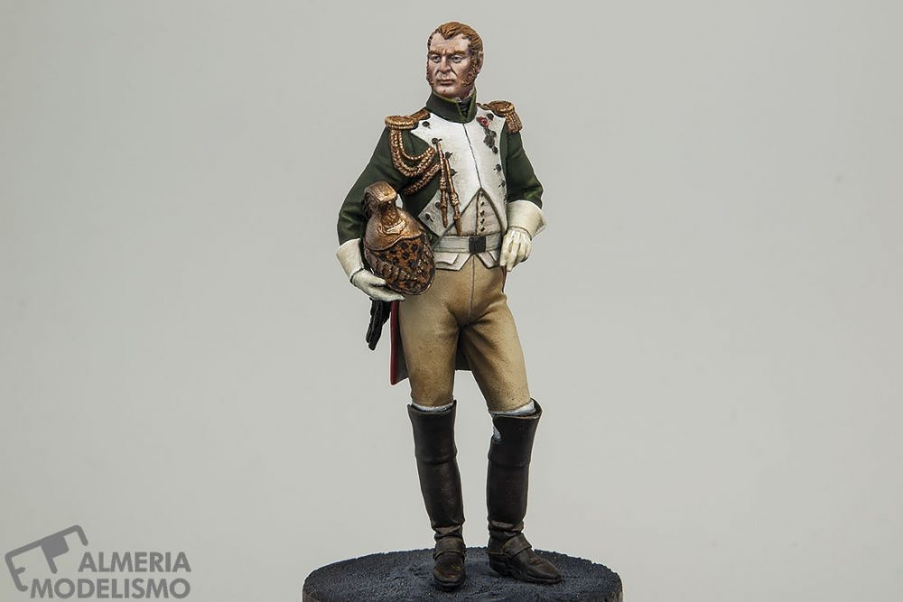Galería: Officer of the Empress' Dragoons, Pegaso 75mm, por Paulino Barros