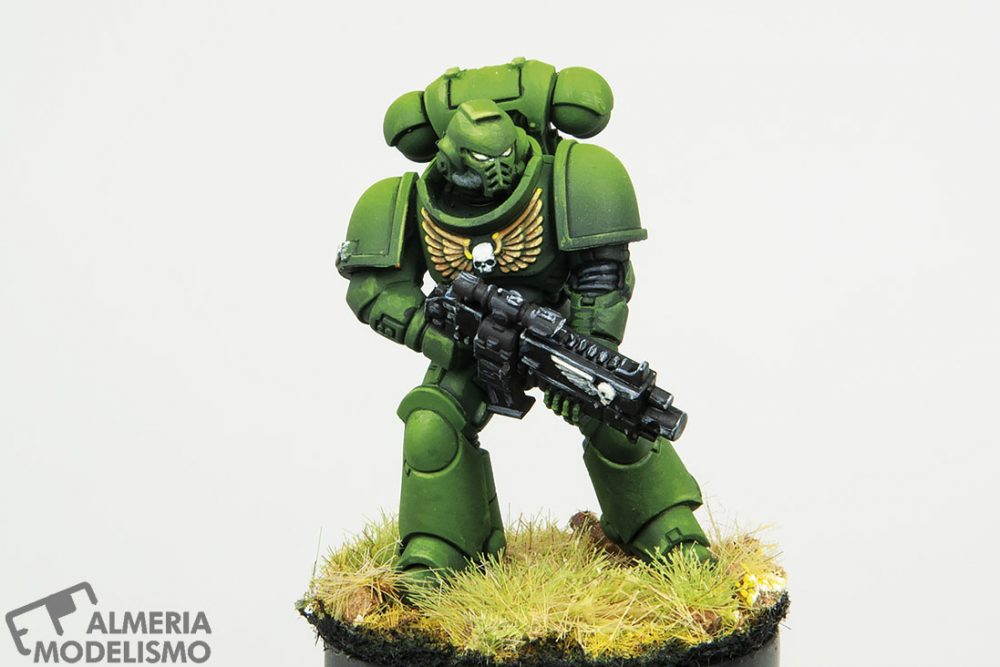Galería: Primaris Space Marine, Games Workshop, por Paulino Barros
